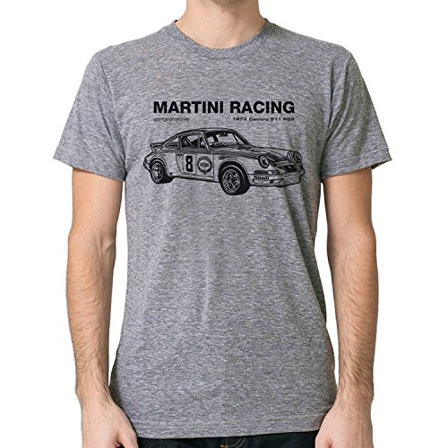 GarageProject101 1973 Martini Racing Porsche T-Shirt (M, - Martini Shirt Racing