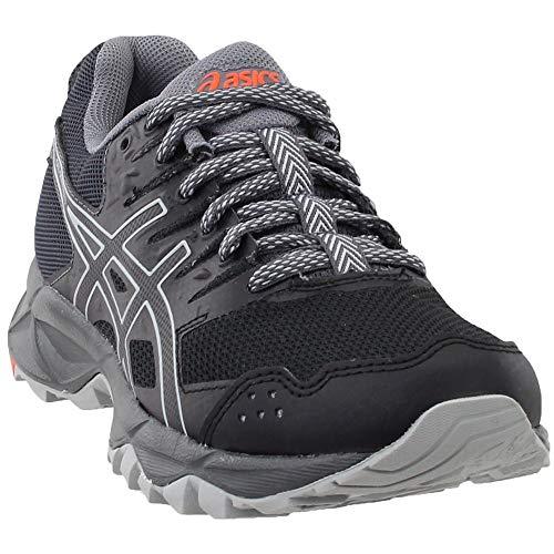 Deporte Para Oscuro Asics sonoma Zapatillas De 3 gris Negro Mujer Gel FxfXxqp