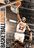 Basketball Legends 2020 Calendar (English, German and French Edition)