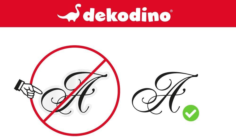 dekodino/® Sticker mural pastel el/éphant avec ballon rouge d/écoration murale