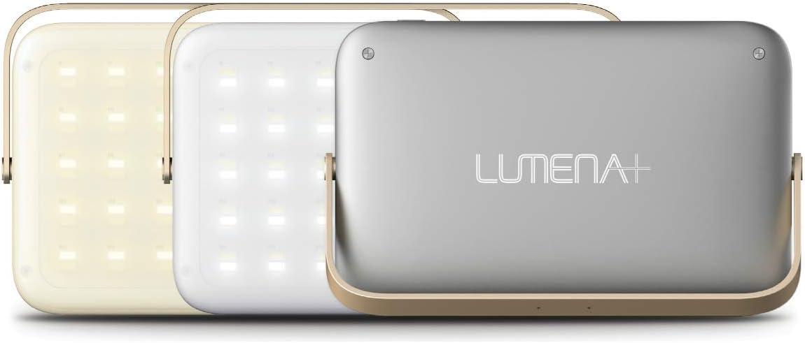 NNINE LUMENA(ルーメナー)7 LEDランタン スペースグレイ