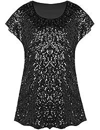 Amazon Com Plus Size Blouses Button Down Shirts Tops Tees