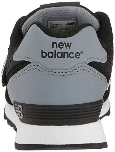 New Balance Kv574cuy M Hook and Loop, Zapatillas Unisex Niños Negro (Black)