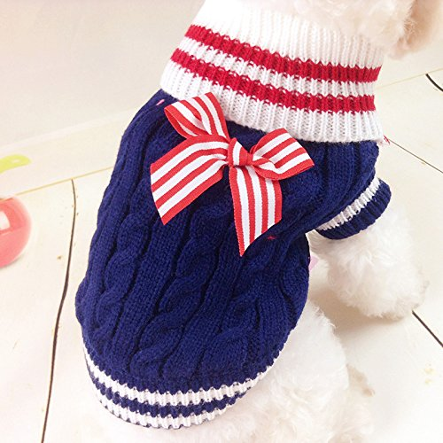 Cute Winter Pet Puppy Small Dog Cat Sweater Clothes Coat Apparel - Chameleon Pet Costume