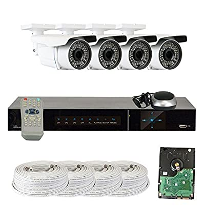 GW Security HDSDI 2.1MP 1080P Security Bullet Camera