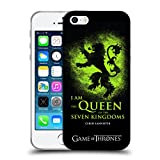 Official HBO Game Of Thrones Queen Cersei Graphics Soft Gel Case for Apple iPhone 5 iPhone 5s iPhone SE