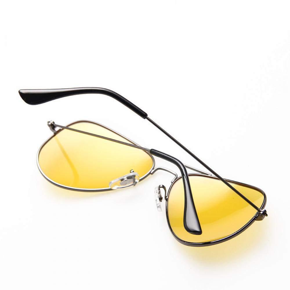 2018 NEW Pilot Aviation Night Vision Sunglasses Men Women Brand Goggles
