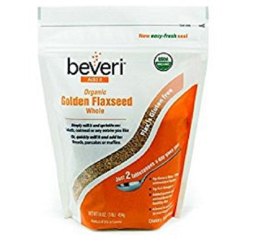 Beveri Nutrition Organic Golden Flaxseed product image