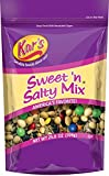 Kar's Sweet 'N Salty Trail Mix - Peanuts, Sunflower Kernels, Raisins & Chocolate Gems - High Protein Snack - 25 Oz Resealable Pouch (8 Pack)