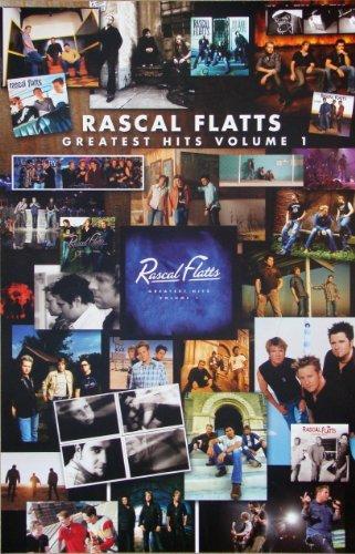 Rascal Flatts - Greatest Hits Volume 1 - Poster - Rare - New -