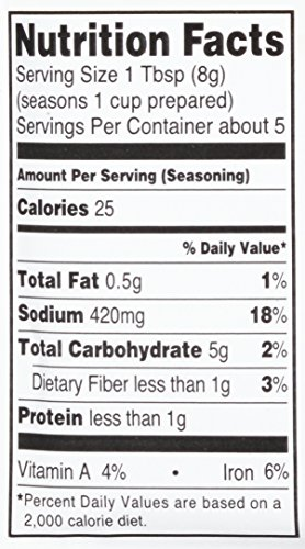 Lawry's Chili Seasoning Mix, 1.48 oz (Case of 12) by Lawry's (Image #2)
