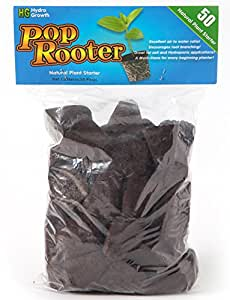 hydro-growth Pop Rooter Conectores Reemplazos 50Count