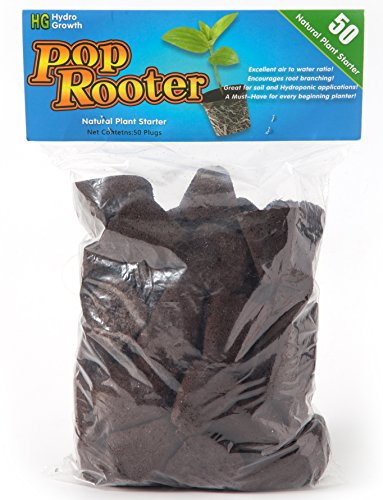 Hydro-Growth Pop Rooter Replacements Plugs 50 (Rapid Rooter Starter)