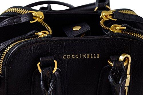 Coccinelle, Borsa a mano donna nero nero