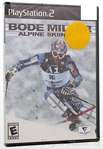 VALCON GAMES Bode Miller Alpine SkiingPlaystation 2 Video Game
