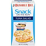 Bumble Bee Snack on the Run Tuna Salad with Crackers Kit, 3.5 oz (Pack of 16)
