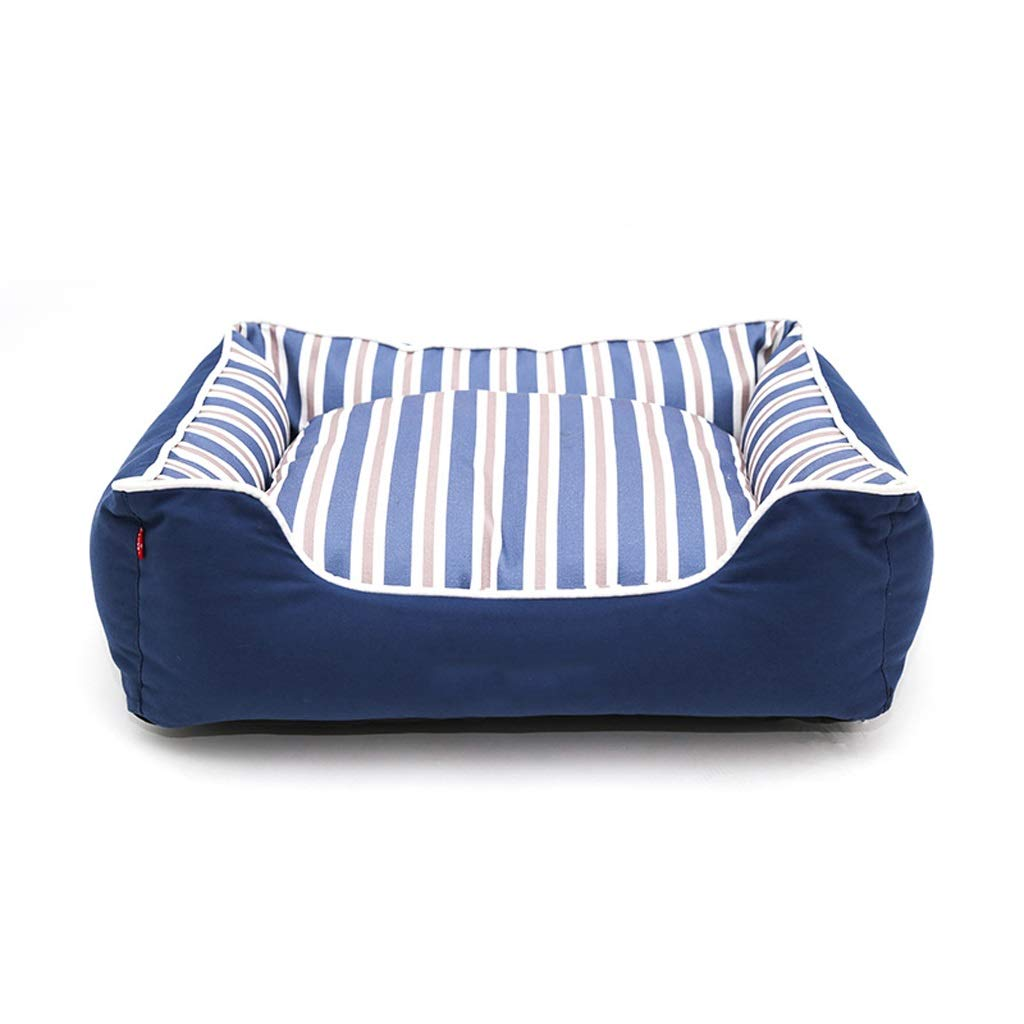 Large YSNUK Pet bed Dual-use Pet Bed Medium-sized Dog Deep Sleeping Nest Full Removable Washable Mat Comfortable, luxurious, warm (Size   L)
