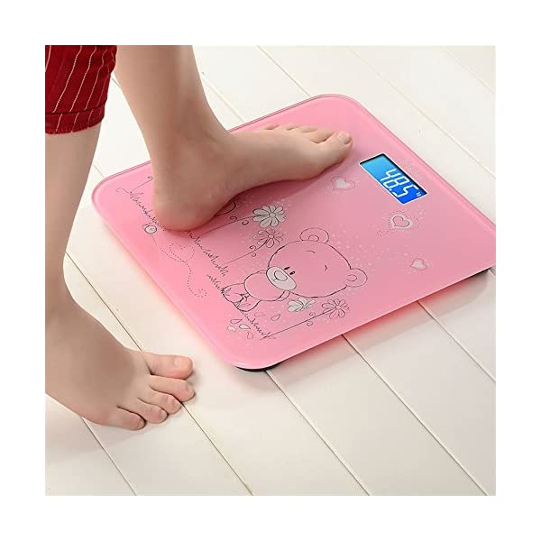 Techsun Electronic Tempered Bathroom Scale