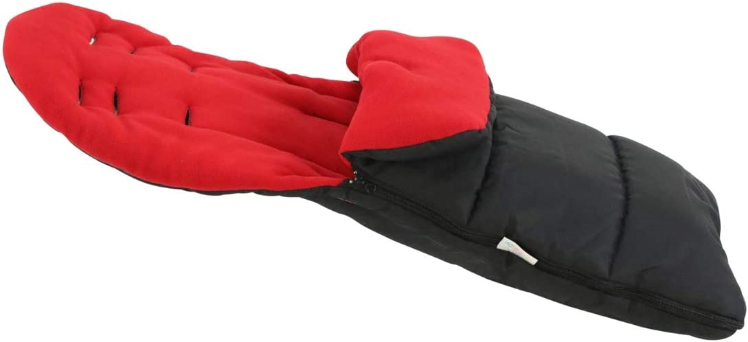 Fire Red FYLO Premium Footmuff//Cosy Toes Compatible with Britax B-Ready