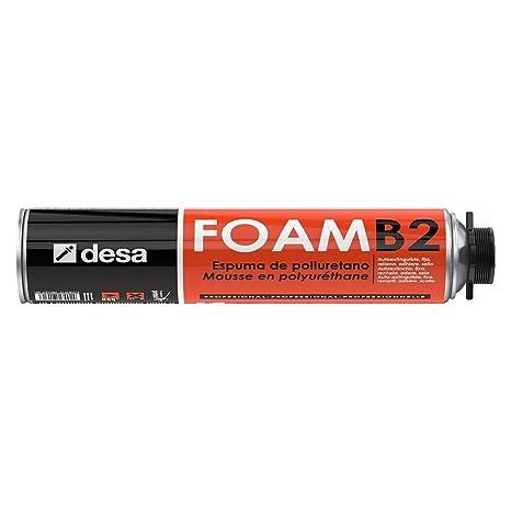 Desa 27017504 - Espuma de poliuretano desa-foam b2 pistolable 750 ml - Envase de