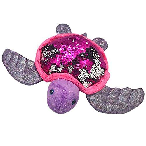 Adventure Planet Reversible Mermaid Sequins Sea Turtle 18 Plush