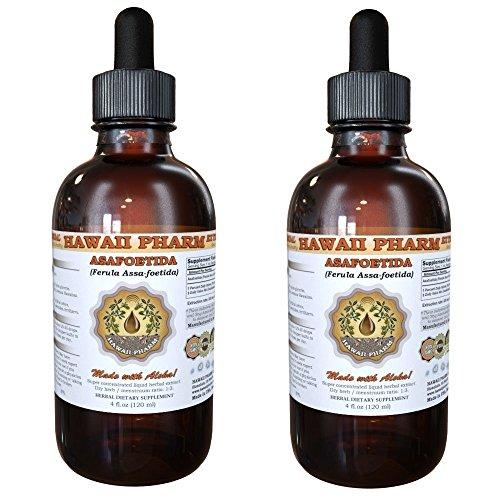 Asafoetida Liquid Extract, Organic Asafoetida (Ferula Assa-foetida) Powder Tincture Supplement 2x2 oz by HawaiiPharm (Image #4)