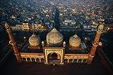 En vol au-dessus de l'Inde
