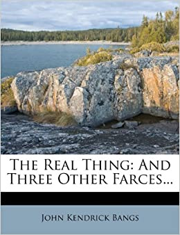 Book The Real Thing: And Three Other Farces...