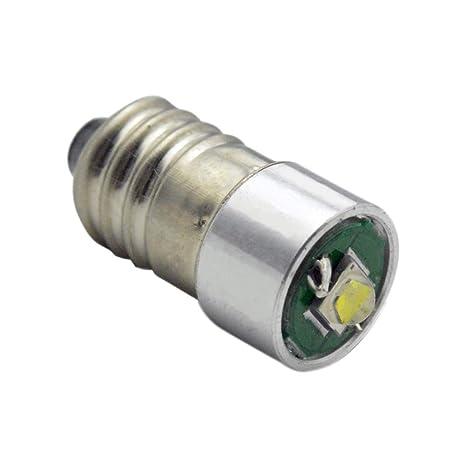 Conversión/actualización E10 bombilla LED cree linterna frontal linterna frontal Petzl Zoom Duo 3 W