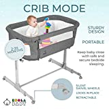 3 in 1 Baby Bassinet, Bedside Sleeper for