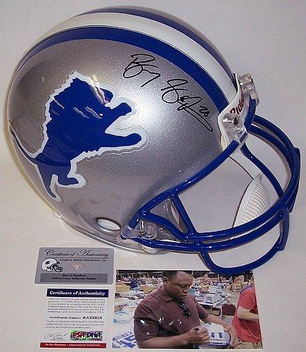 Barry-Sanders-Autographed-Detroit-Lions-Authentic-Helmet-PSA-Authentic-Signed-Autograph