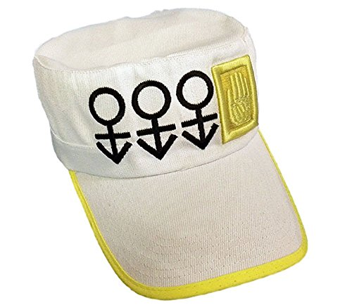GK-O Anime Jojos Bizarre Adventure Jotaro Kujo Cap Hat Part 4 Diamond is Unbreakable Cosplay Costume -