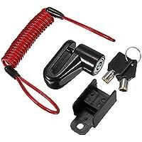 JenNiFer Scooter Eléctrico Antirrobo Cable De Acero Bloqueo Frenos De Disco Ruedas Armario para Xiaomi Mijia M365…