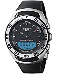 Sailing-Touch Mens Rubber Strap Multi-function Watch T056.420.27.051.01