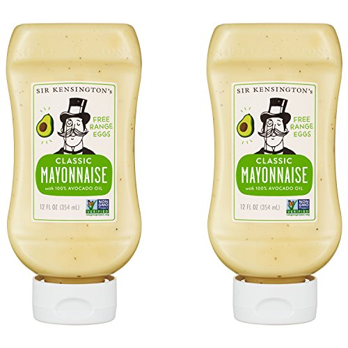 Sir Kensington's 2 Piece Mayonnaise, Avocado Oil, 24 Ounce