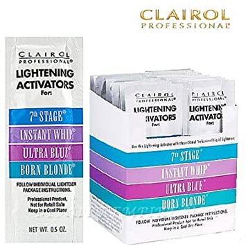 clairol lightening activators 7th stage instructions