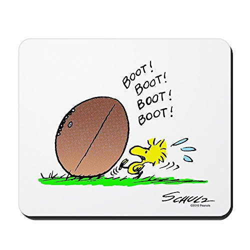 CafePress - Woodstock Kicker - Non-slip Rubber Mousepad, Gaming Mouse (Woodstock Kicker)