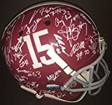 2016 Alabama Crimson Tide Team Multi Signed FS Football Helmet w/COA Full Size 1