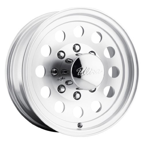 Ultra Wheel 062 Smooth Mod Silver Wheel with Machined Finish  (16x6