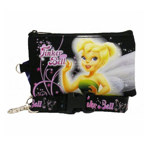 Officially Licensed Disney Fairies Zipper Pouch
