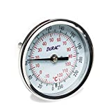 H-B DURAC Bi-Metallic Dial Thermometer; -20 to 120C (0 to 250F), 1/2 in. NPT Threaded Connection, 75mm Dial (B61310-6700)