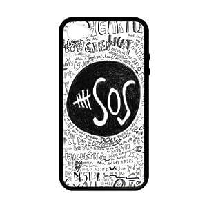 5 SOS Quotes Lyrics iPhone 4 4s Cases-Cosica Provide Superior Cases For iPhone 4 4s