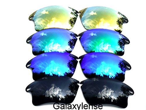 Rapide Lentilles Oakley De Bleu Vert Pour Remplacement Ou Xl Or Galaxylense Hommes amp; Noir Femmes dACwXqIAx