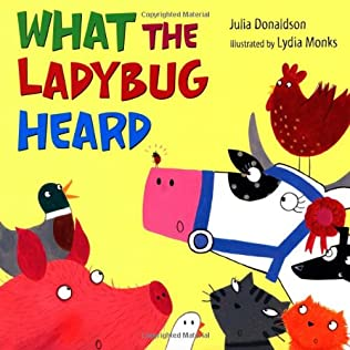 book cover of What The Ladybird Heard