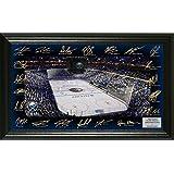 "NHL Buffalo Sabers Signature Rink, Black, 24"" x 16"" x 4"""