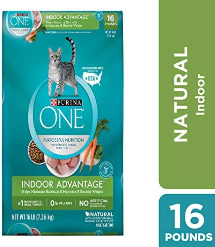 Purina ONE – Indoor Hairball Healthy Weight Management – 16lb 178627