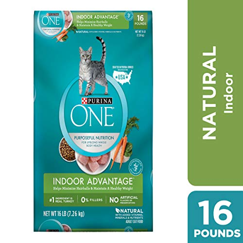 Purina ONE Hairball & Weight Control Dry Cat Food