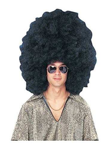 Super Size Black Afro Wig (Jumbo Afro Adult Wig)
