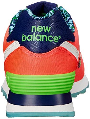 NEW BALANCE–Zapatillas de mujer Luau 574 Rosado/Verde