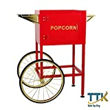 PM8CART Cart for 8 oz. PM850 Popcorn Popper with 18'' Wheels by TableTop king